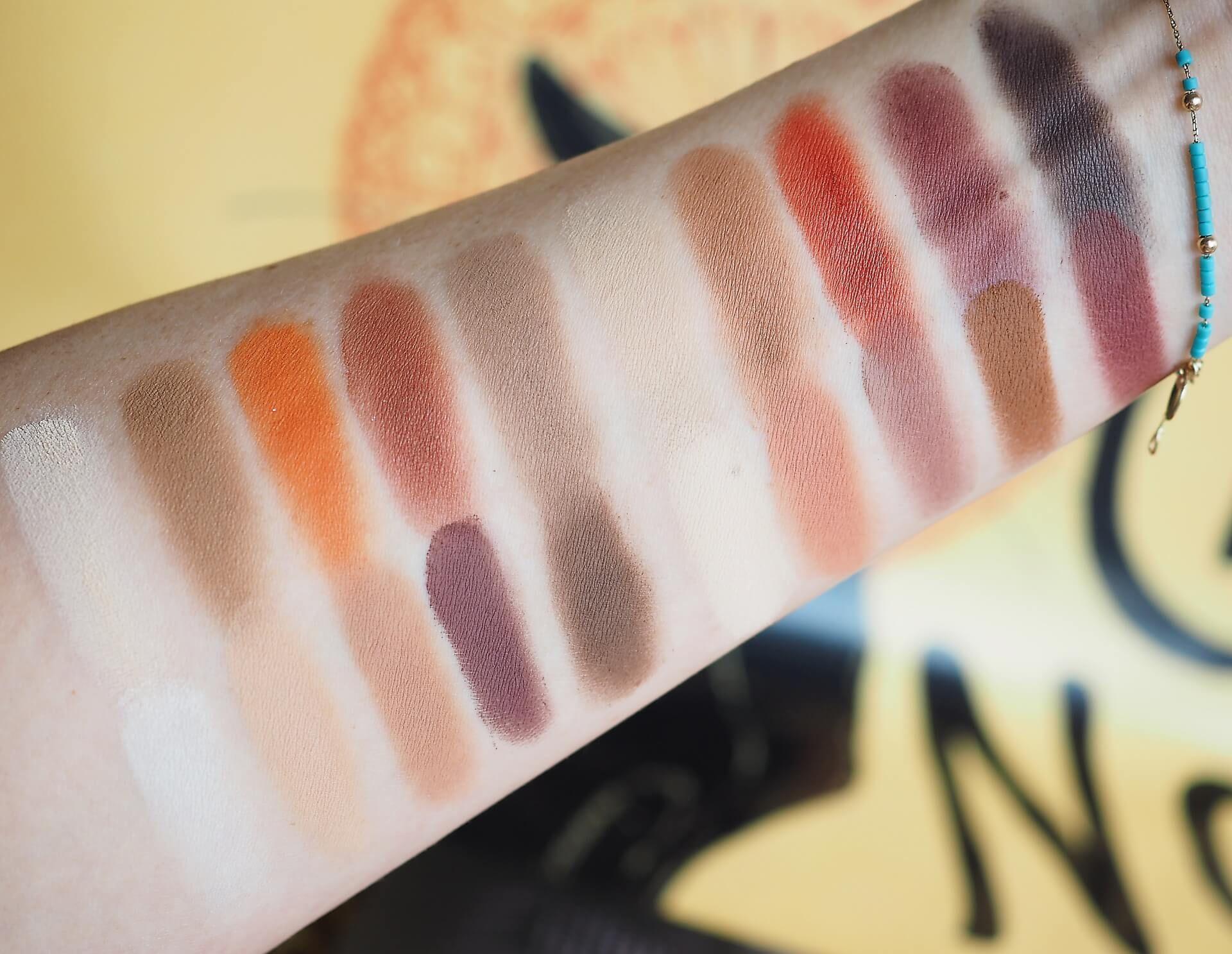 Zoeva Matte Eyeshadow Palette Recenzja Zdjecia I Swatches Delicious Beauty Eyeshadow Matte Eyeshadow Palette Matte Eyeshadow