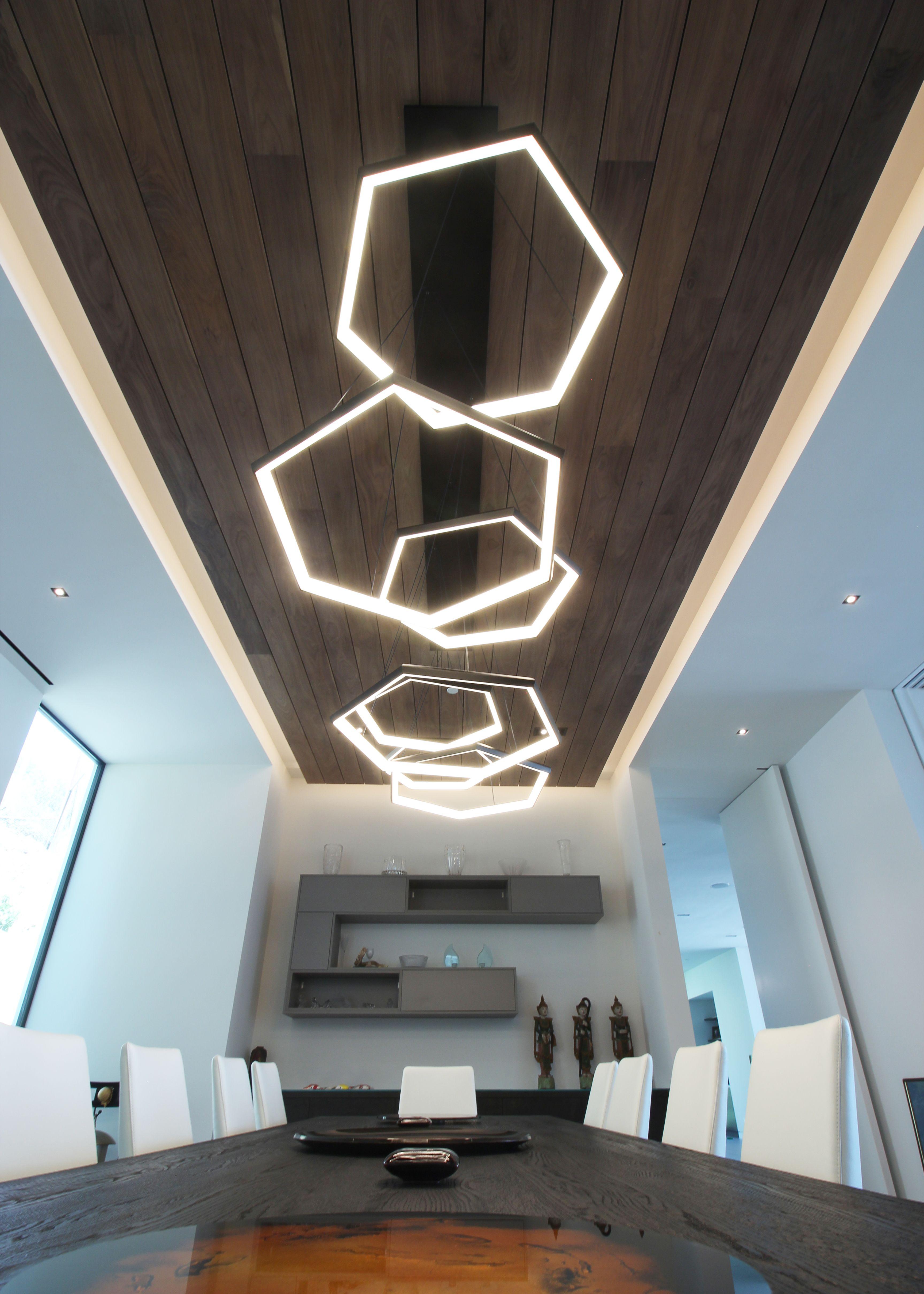 Endo Room Design: Custom Fixture By Studio Endo. Installed In Beverly Hills