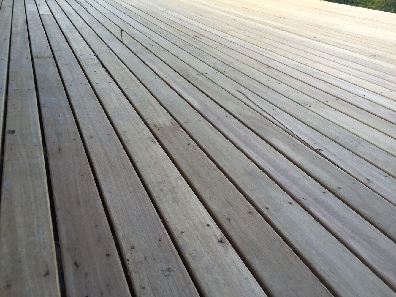 Australian hardwood decking It's versatile, tough, sands