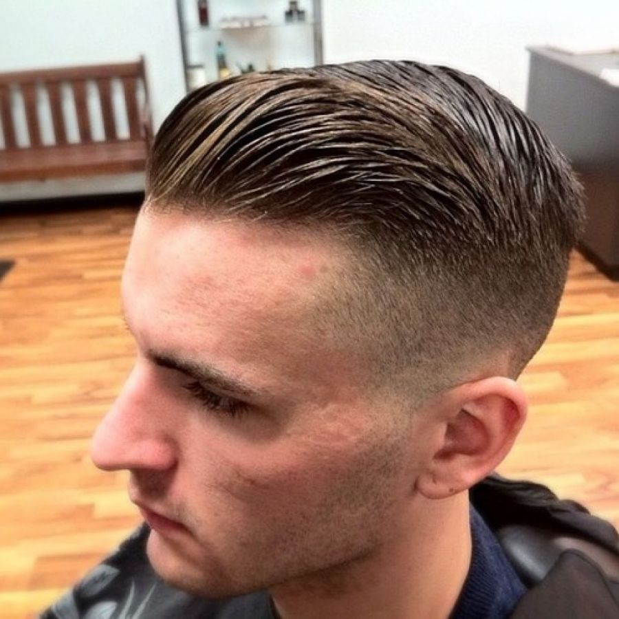 comb back hairstyle men short hairstyles combed back hair