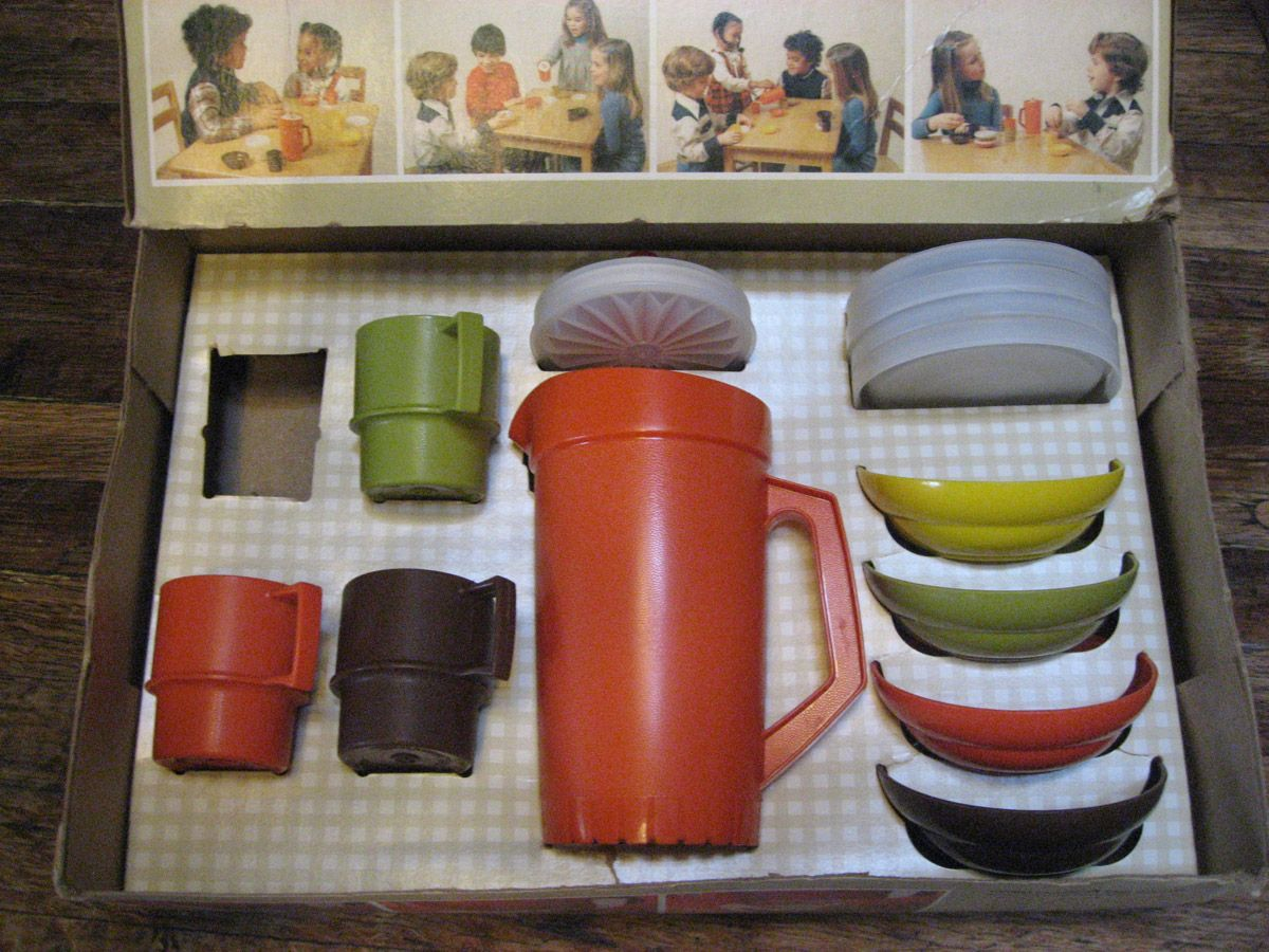 For Colors ChildrenThe Scream Tupperware 70'sNana Had These UzMVpqSG