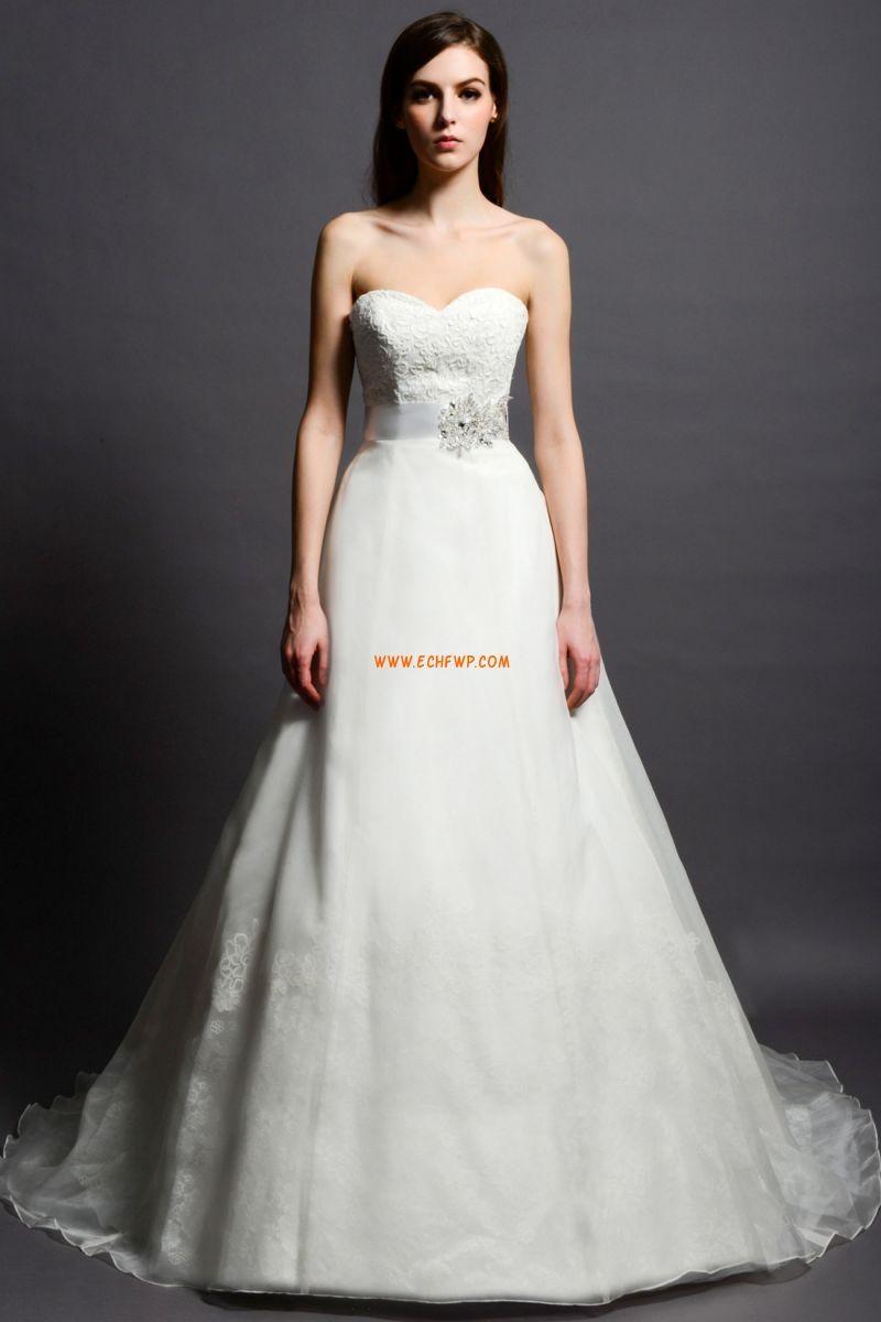6860949f2bf3 Elegant & Lyxig Dragkedja Empire Bröllopsklänningar 2014 ...