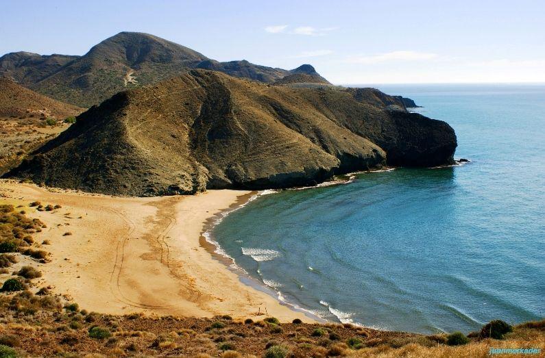 Cala De La Media Luna Playas España Lugares Preciosos Almería