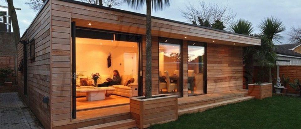Houten huizen google zoeken huizen pinterest bungalows houten huizen en chalets - Chalet hout ...