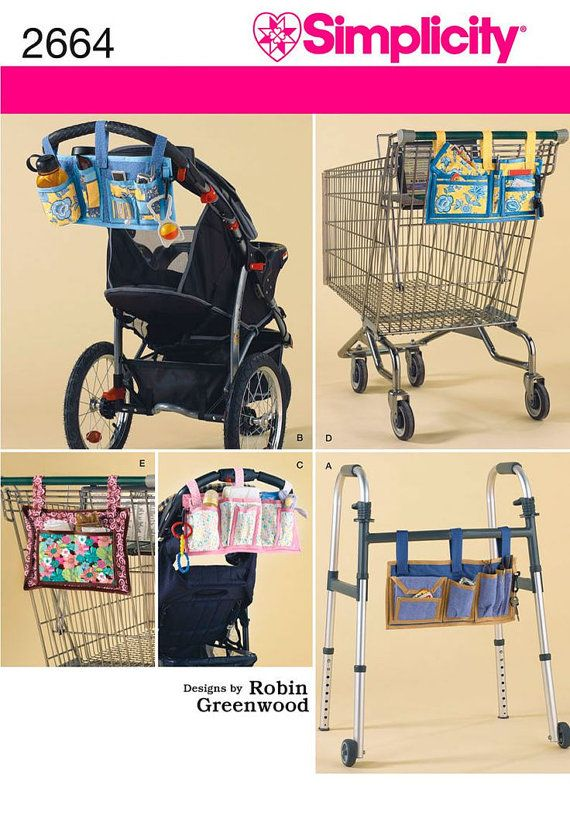 Simplicity 2664 Organizers Stroller coupon by marcellassewing, $5.99 Lots of things to make!