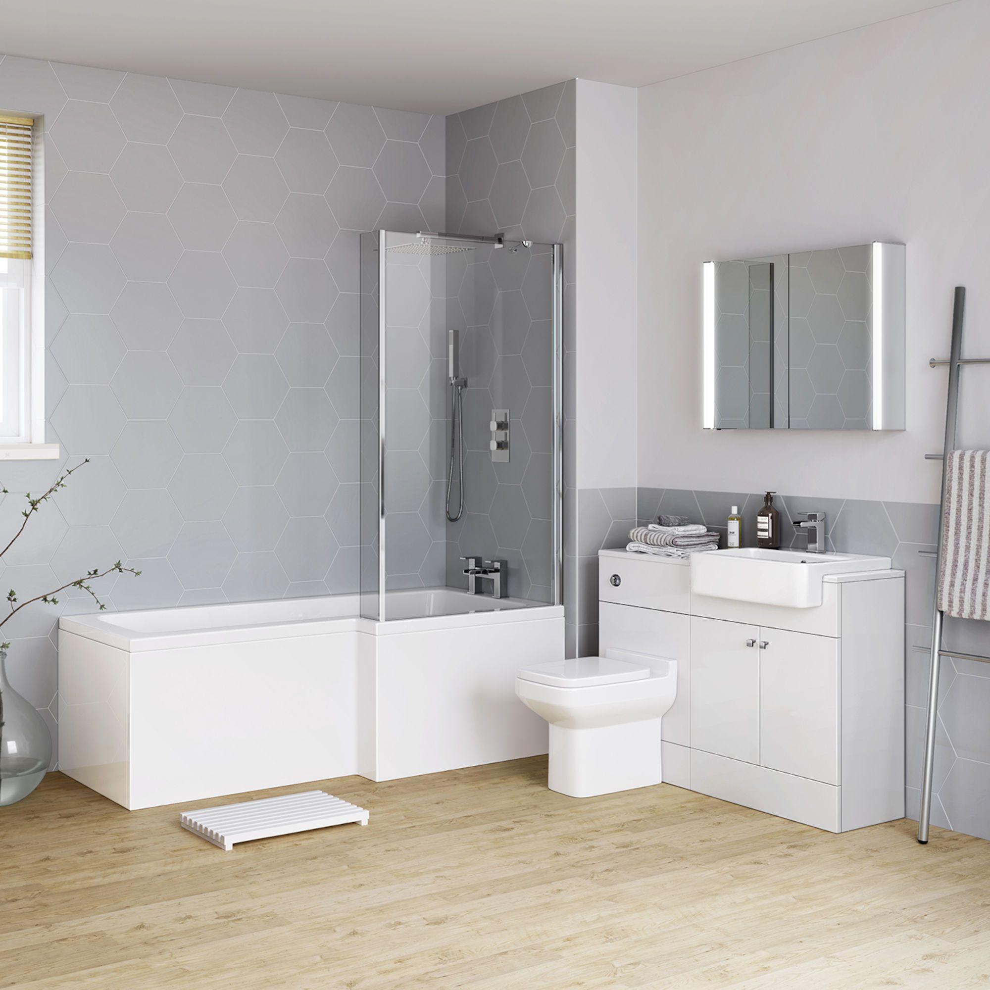 Della Bathroom Suite Simple Bathroom Designs Shower Remodel Simple Bathroom