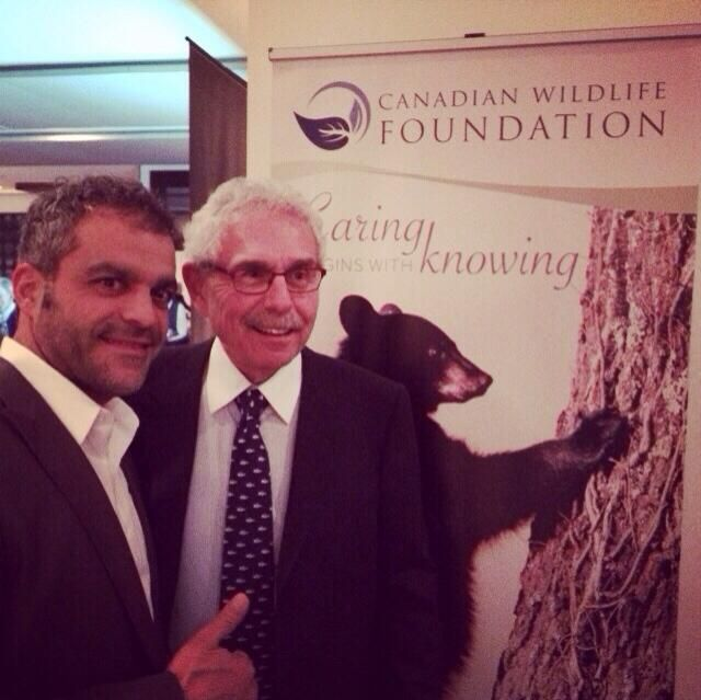 @philzullo and Dr. Bernie Gosevitz at the Rivers to Oceans dinner. Great night, great cause! #toronto #pro_fit_hf