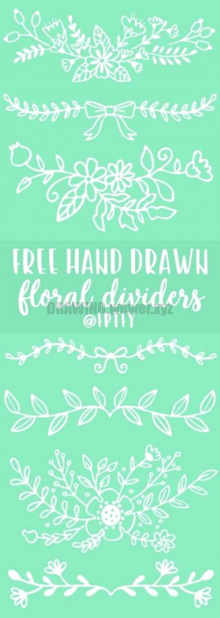 Flowers art drawing creative hand drawn 63 ideas How to Draw