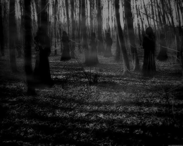 Angel Of The Dark Forest Large Creepy Backgrounds Dark Forest Forest Background