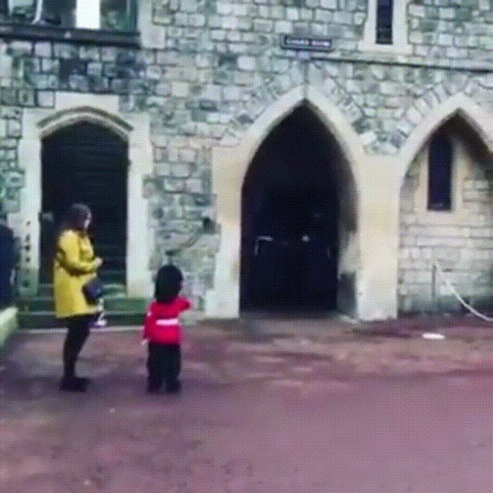 Coldstream Guard Makes Little Boy's Birthday Wish Come True