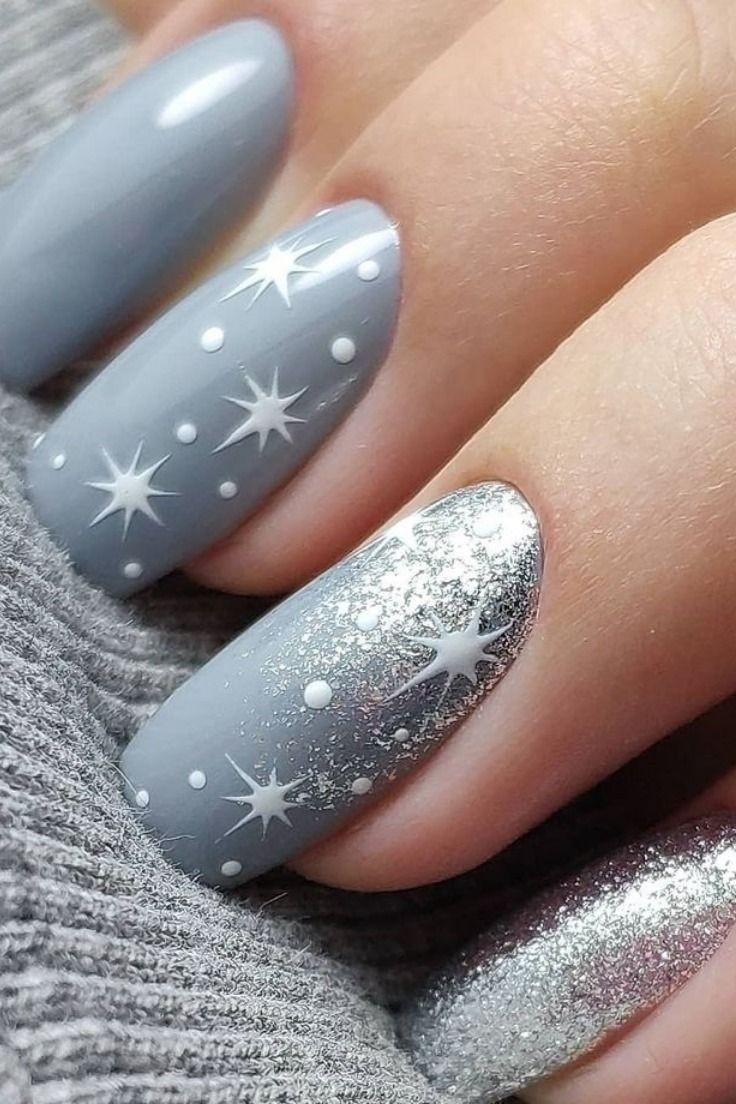 Photo of 30 Trendy Snowflake Nails von 2019 Christmas Koees Weblog