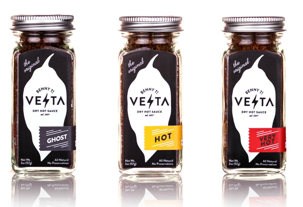 Benny T's Vesta Dry Hot Sauce