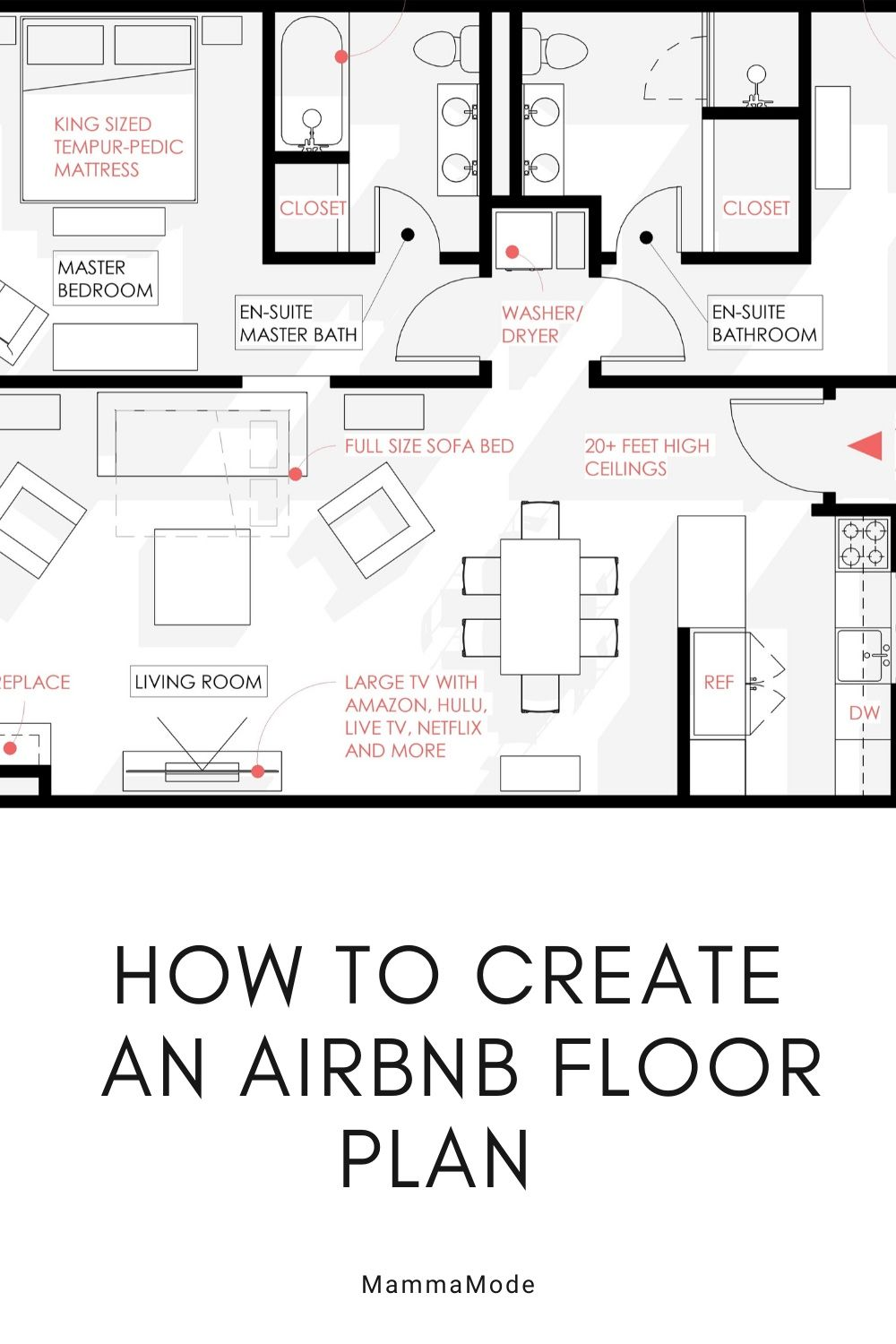 How To Make An Airbnb Floorplan Floor Plans Free Floor Plans Create Floor Plan