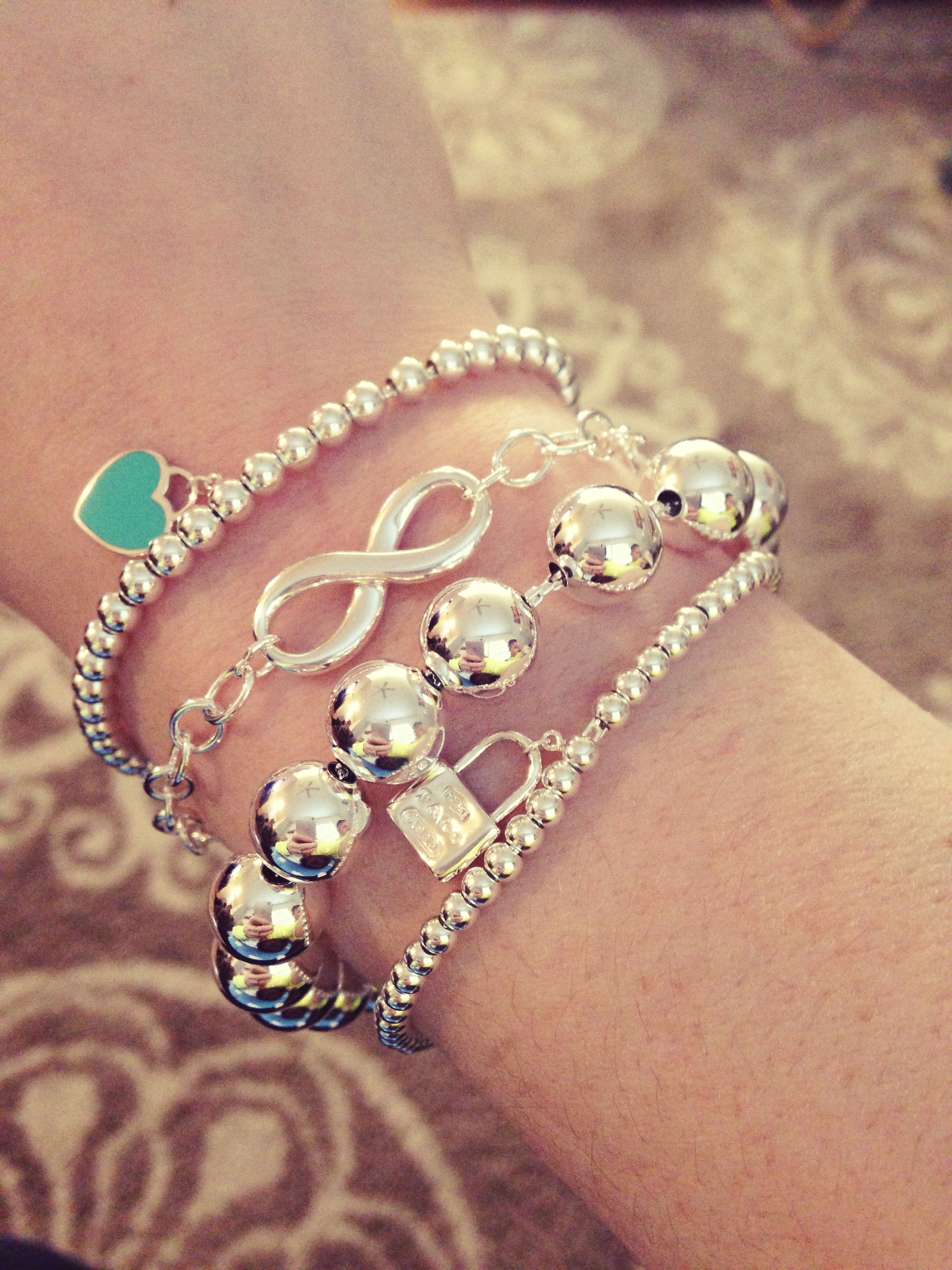 My New Tiffany's Bracelets :)