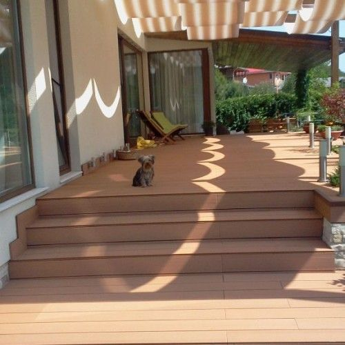 3x6 Tongue And Groove Roof Decking Deck Wpc Decking Roof Deck