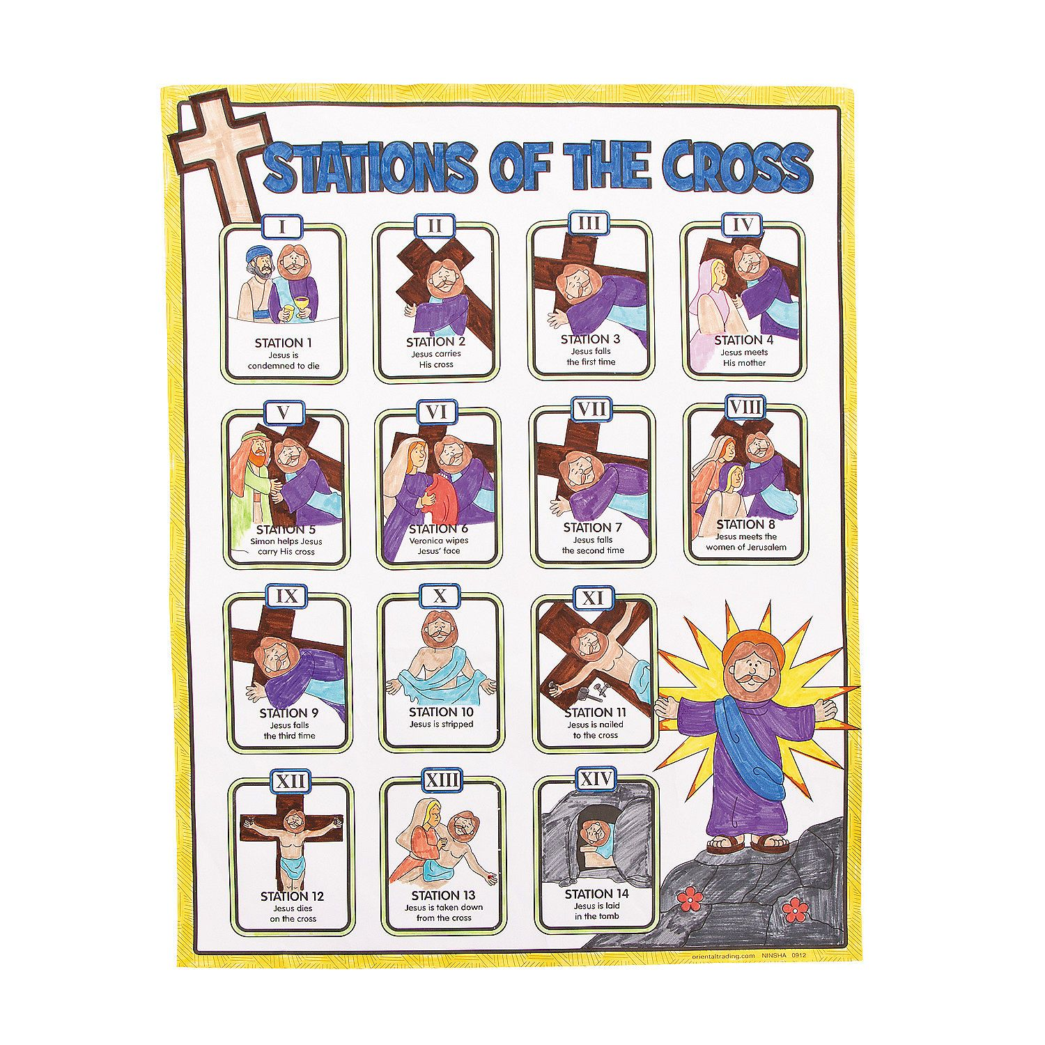 It is an image of Decisive Printable Stations of the Cross Catholic