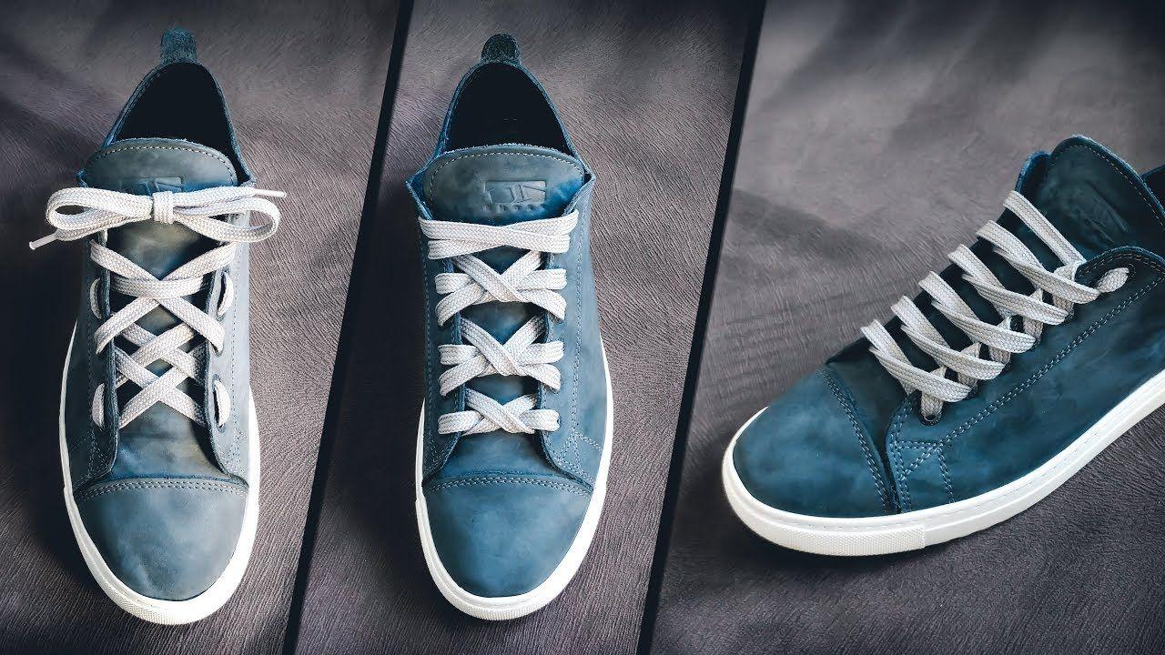 4 Cool ShoeLace Styles Shoelace tutorials Shoe laces
