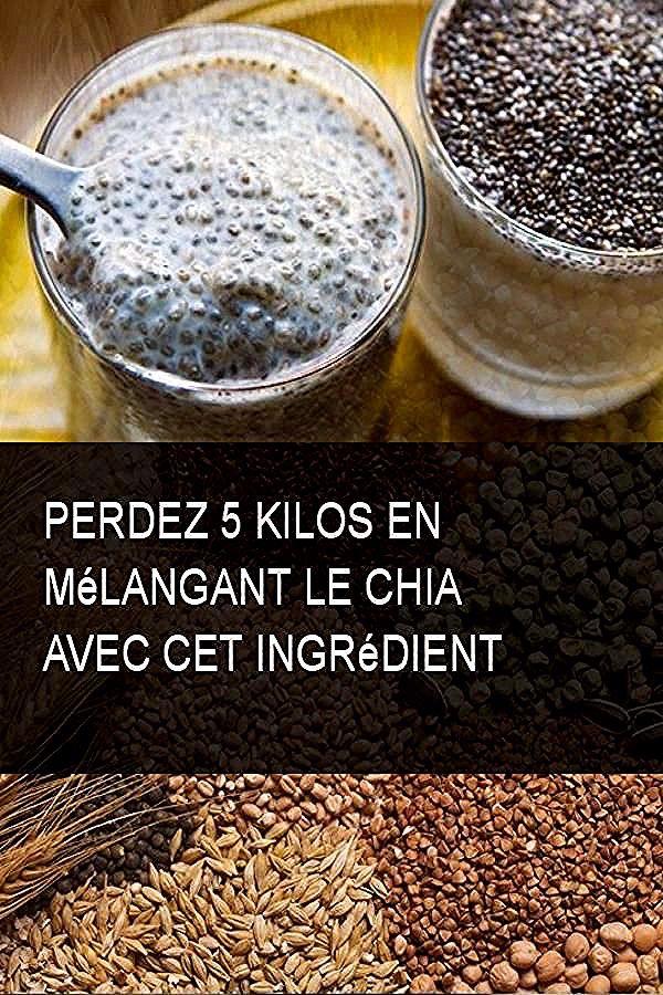 Diet Food   Maigrir graine de chia, Graine de chia recette
