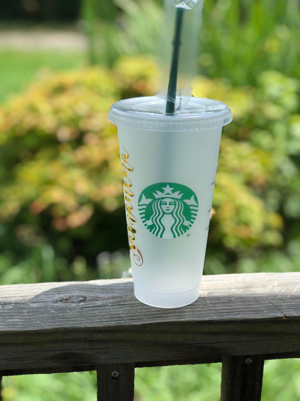 Authentic Starbucks Cold Cup Custom Starbucks Veti