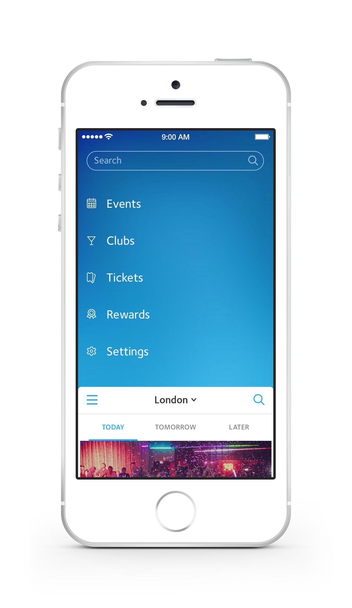 Dribbble - Menu-real-pixels.png by Dejan Markovic #mobile #ui #ux #design #inspiration #navigation #app #interface #ios #android #flat