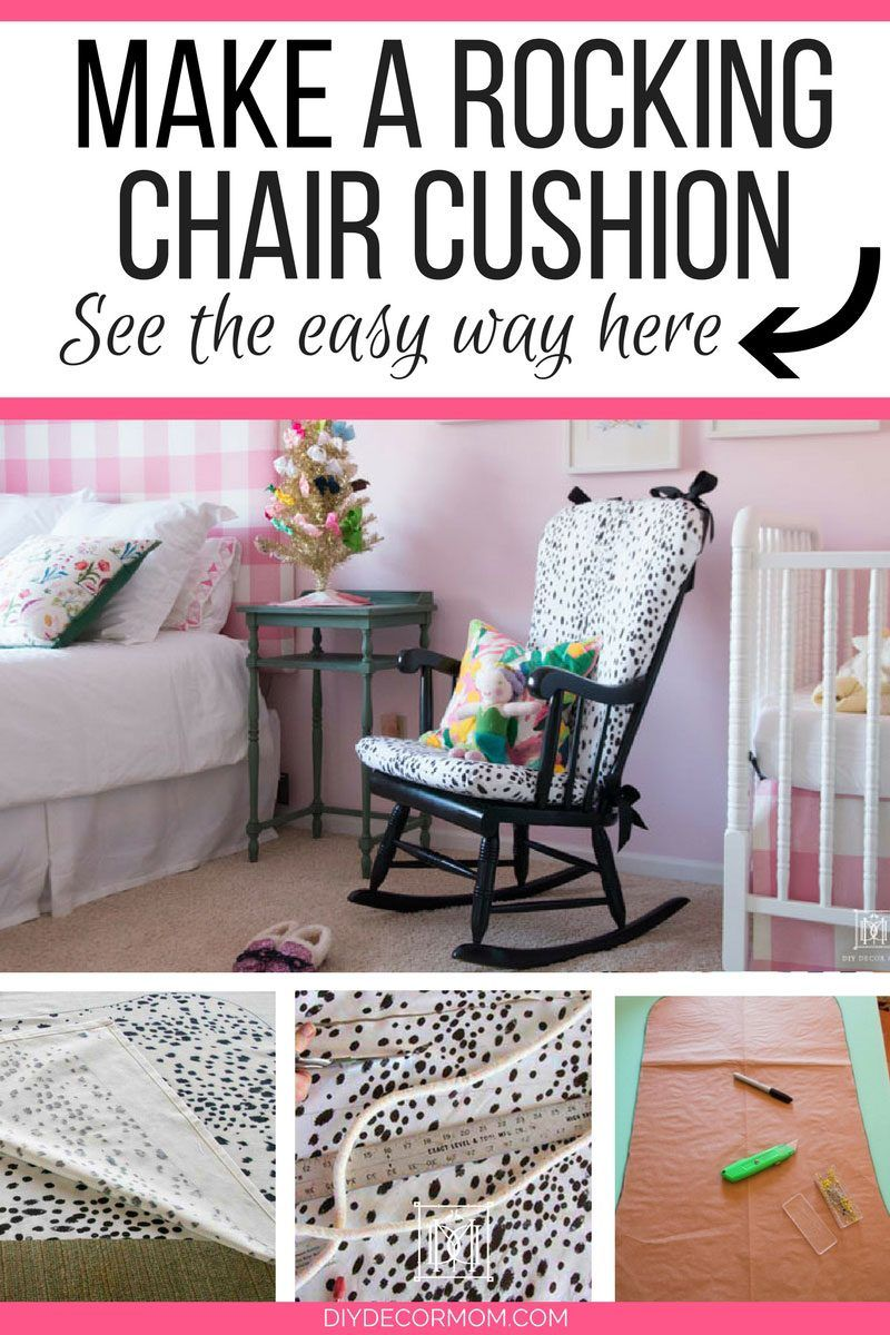 Diy upholstered rocking chair rocking chair cushions