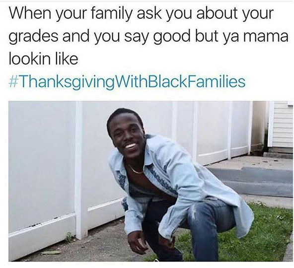 Black Twitter Is On A Roll Top 13 Funniest Memes On Thanksgivingswithblackfamilies Btnomb Marvel Memes Funny Memes Marvel Cinematic