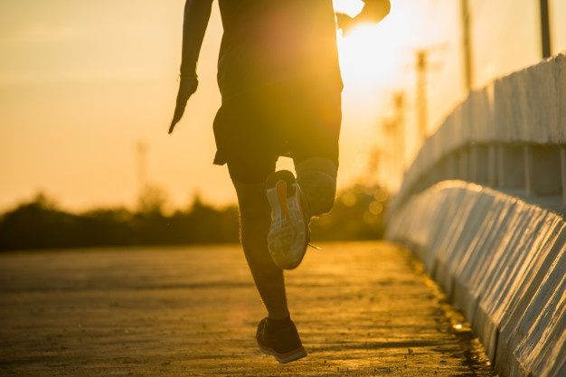 Download Silhouette Of A Young Fitness Man Running On Sunrise For Free In 2020 Free Photos Mens Fitness Fitness Motivation Body