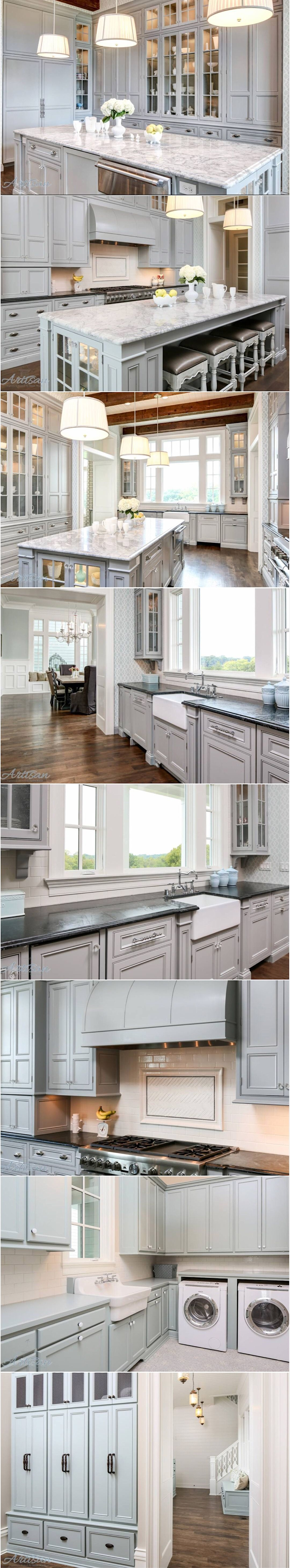 Grey~Style Luxe Kitchen Design – Designer Monday Continues✨This ...