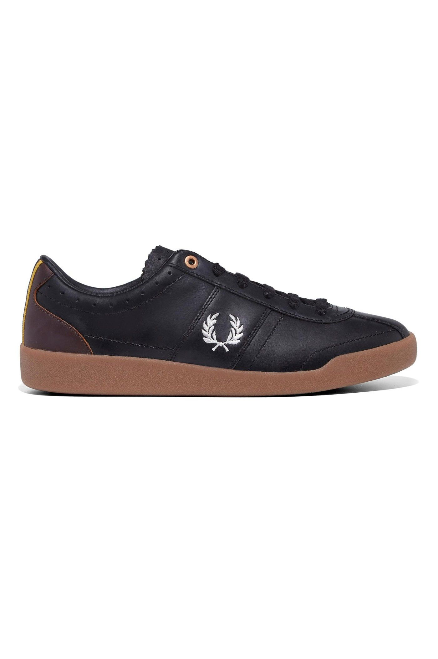 Fred Perry Bradley Wiggins Stockport Leather - Black