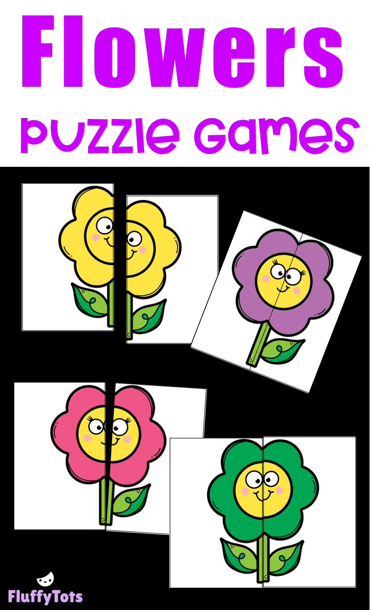 Flowers Puzzle Matching Games Grab This Free Fun Flowers Puzzle Matching Games Perfect For Your Matching Games For Toddlers Flower Puzzles Toddler Preschool [ 1236 x 750 Pixel ]