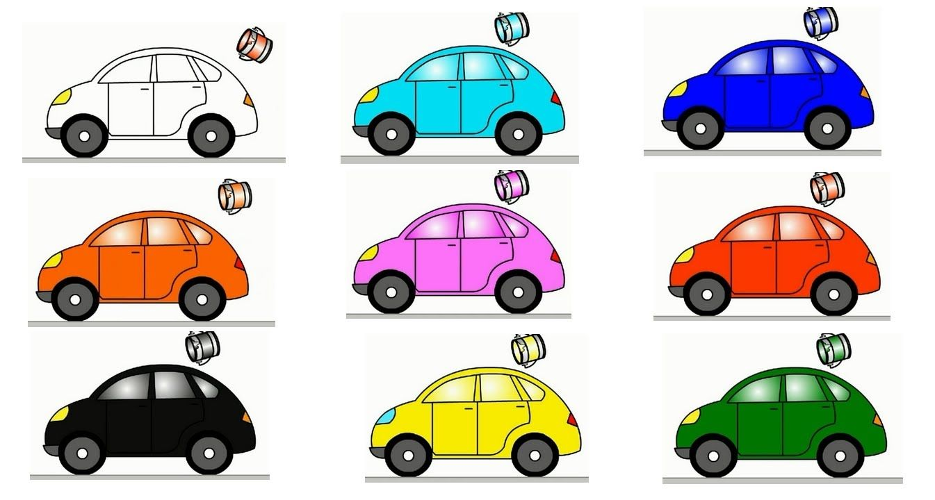 colors for kids with cars in cartoons english learning videos on channel for kids kids learn colors with cars for kids - Colour For Children