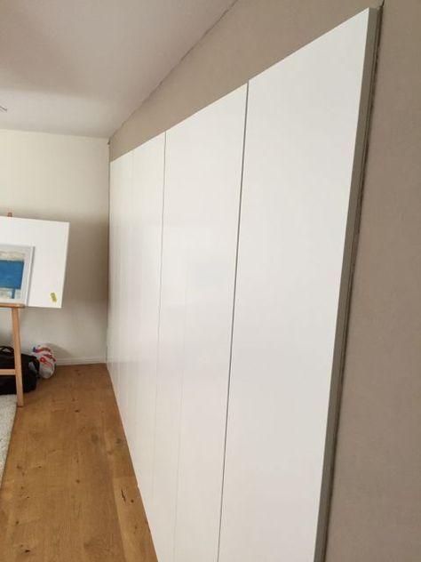 Built-in PAX using Dry Wall Technique - IKEA Hackers Schrank - ikea schrank schlafzimmer