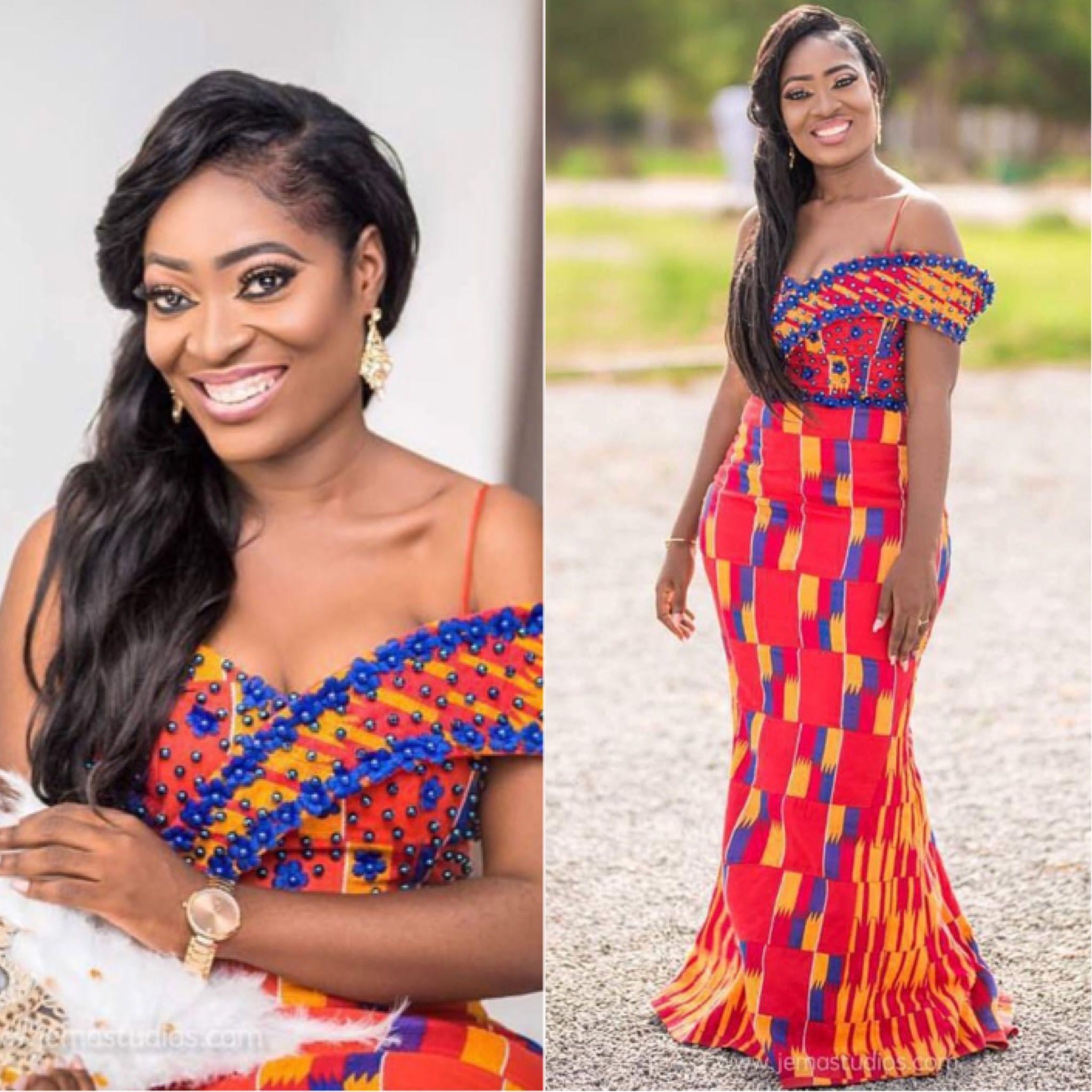 Pingl par christiana a aboagye sur women 39 s fashion for Styles de robes africaines pour mariage