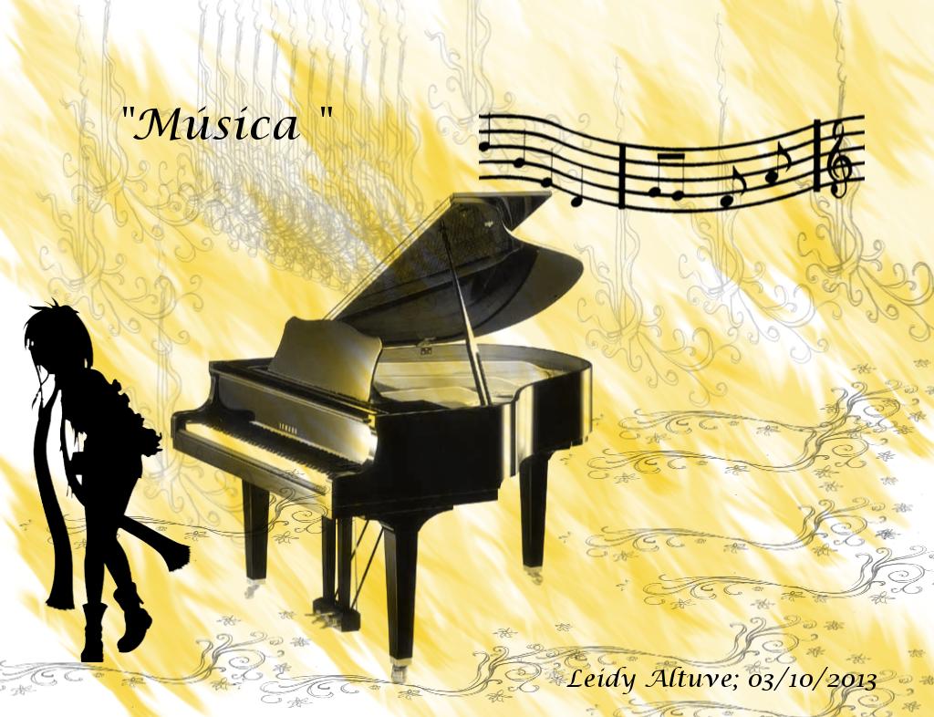 """Música "" pinceles: Rise_3; Music_20; Music_8; FF 4; GIMP Brush #73 Fuente: Lucida Calligraphy Italic Tamaño 1024X786"