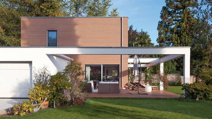 Moderne häuser mit terrasse  Moderne Terrasse und Garten im SchwörerHaus | Modern house | Pinterest
