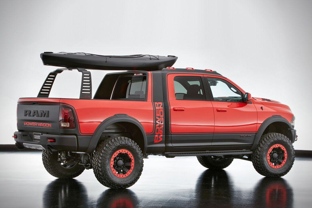 Truck chevy concept truck reaper : Ram Macho Power Wagon Concept   nice rides   Pinterest   Ram rebel ...