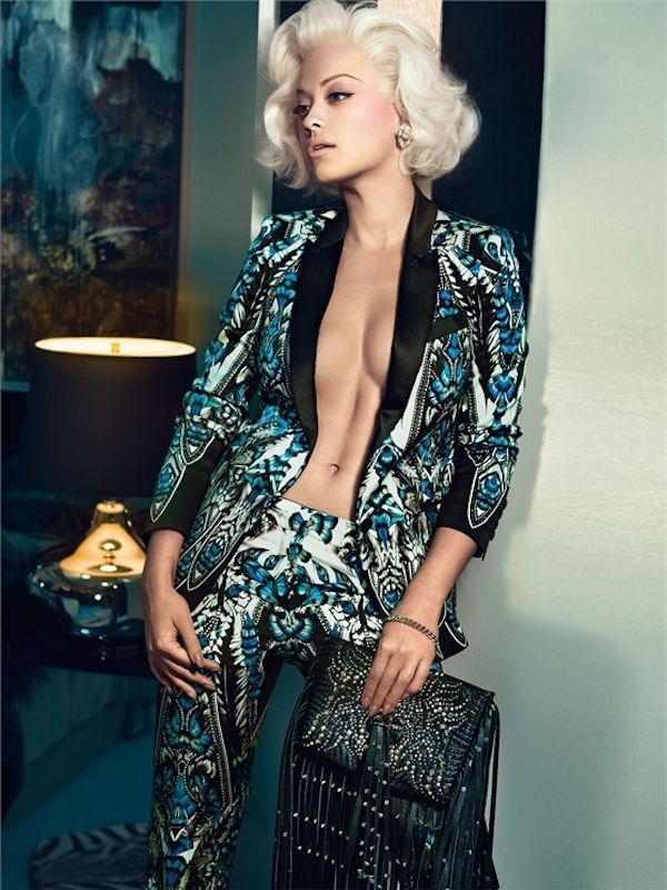 Rita Ora for Roberto Cavalli 3 THIS SUIT IS EVERYTHING