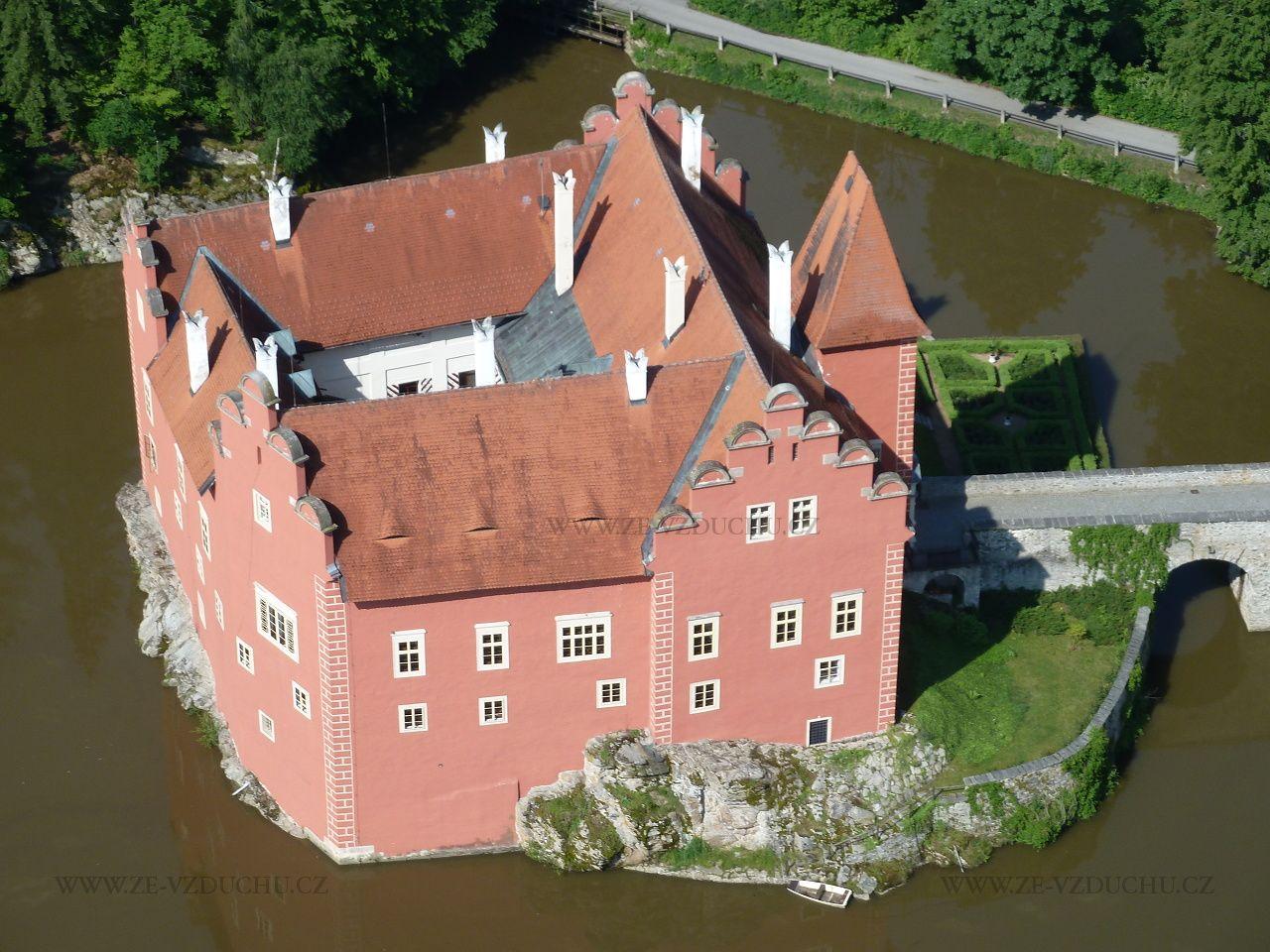 Zámek Červená Lhota –  Castel Červená Lhota - South Bohemia