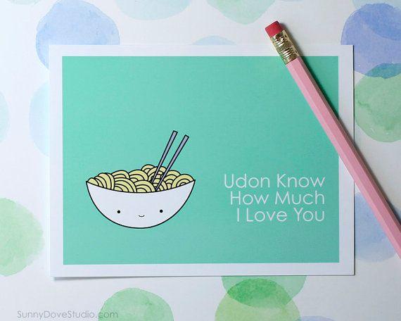 Birthday Card Food Puns ~ Food pun i love you card boyfriend girlfriend husband wife fun funny