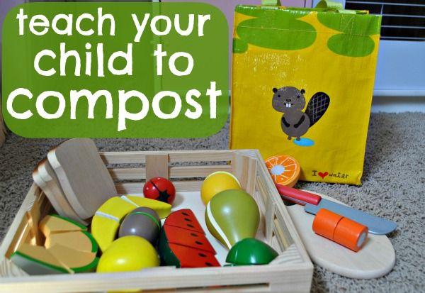 The Iowa Farmer's Wife: Pretend Play: Composting #readforgood