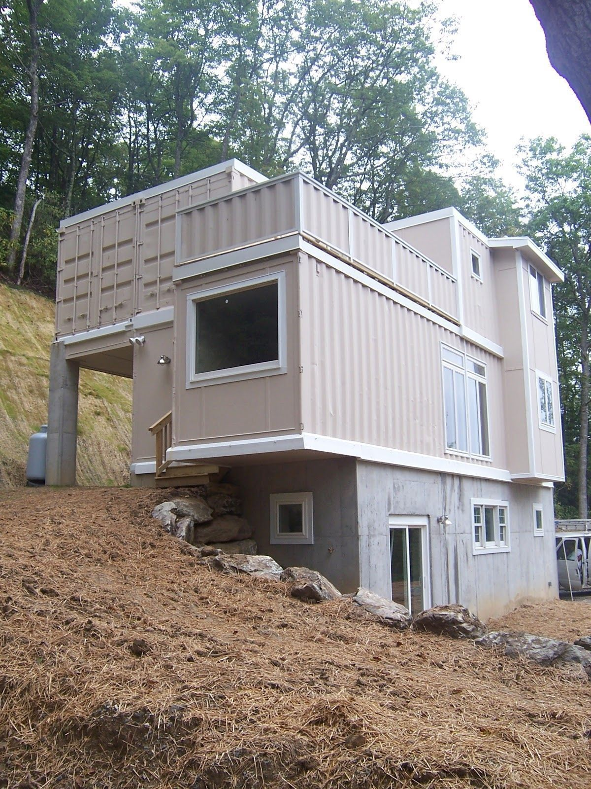 Modern Shipping Container Homes In Shipping Container Home