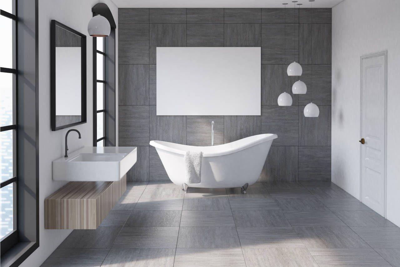Cost To Install Bathroom Tile Floor 2020 Cost Estimator