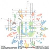 photograph regarding Science Crossword Puzzles Printable identify Pin upon Cub Scouts