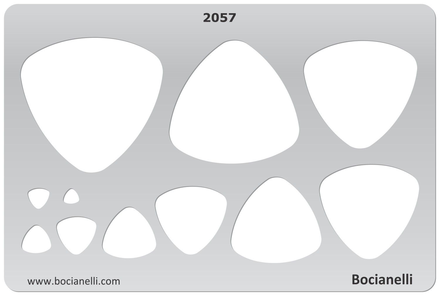 Design Template Stencil for Drawing Drafting Jewellery Making ...