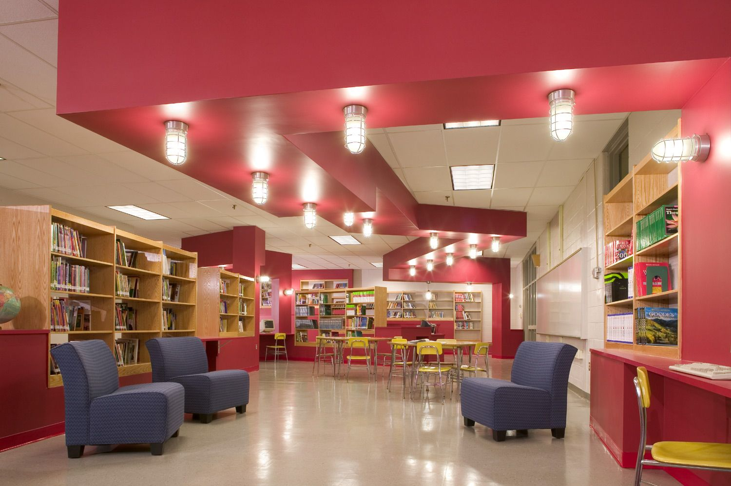 Classroom Library Design Ideas : Middle school library decor southeast
