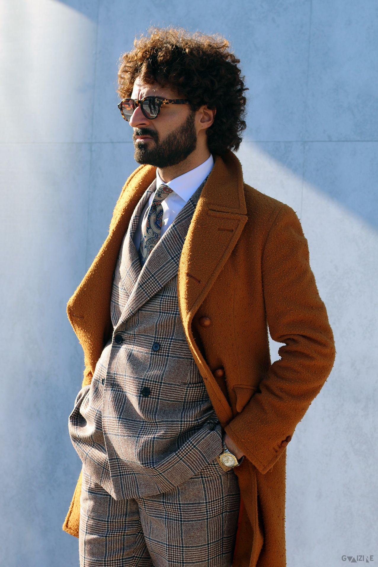 guaizine: Guaizine ft. #StreetStyle at #PittiUomo89 | #PHOTO by male®