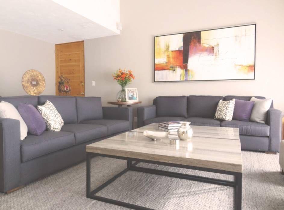 Mesas en acero y cubierta de m rmol salas de estilo por - Mesas de arquitectura ...