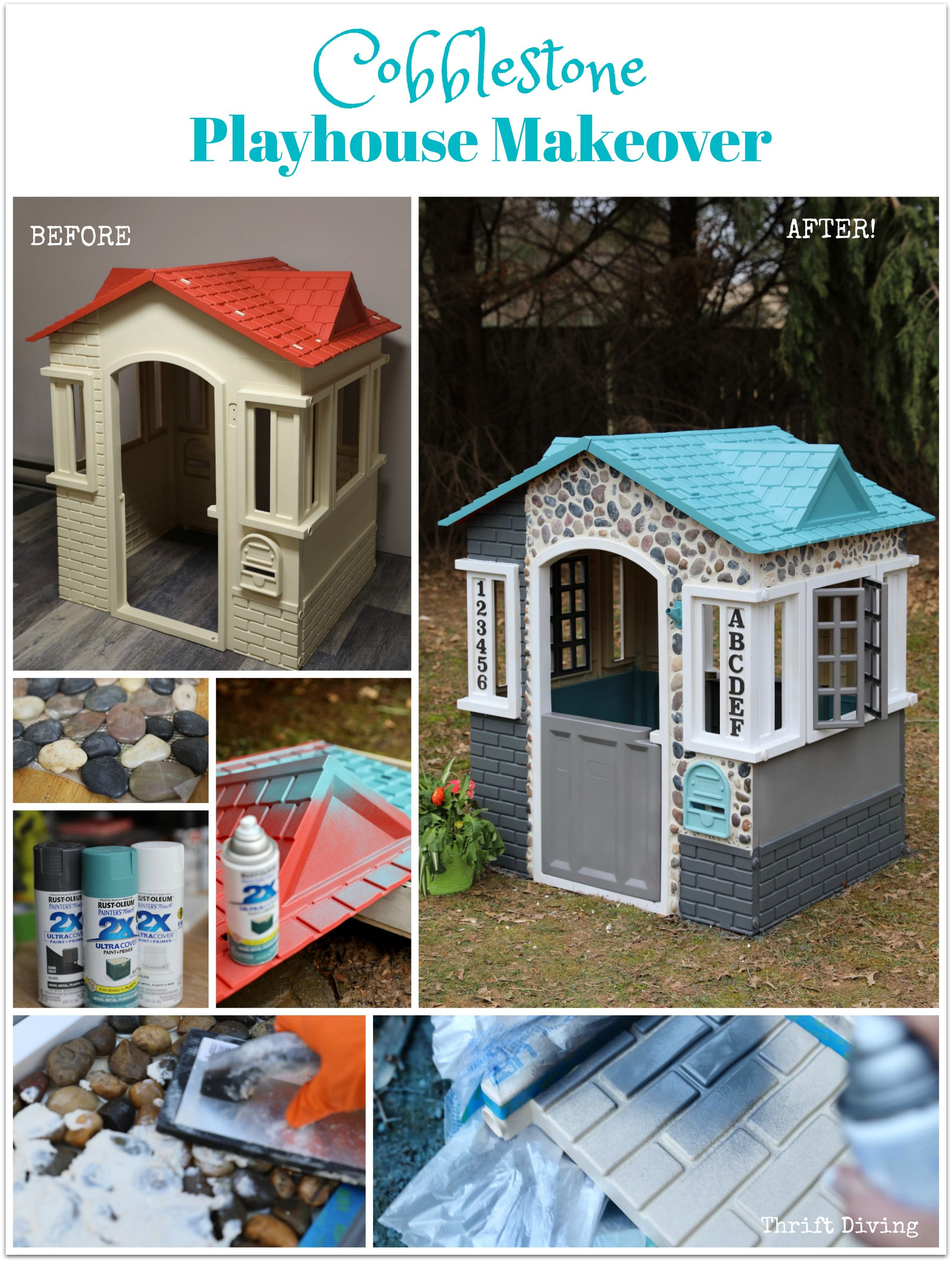Little Tikes Cape Cottage Playhouse™ Makeover Thrift