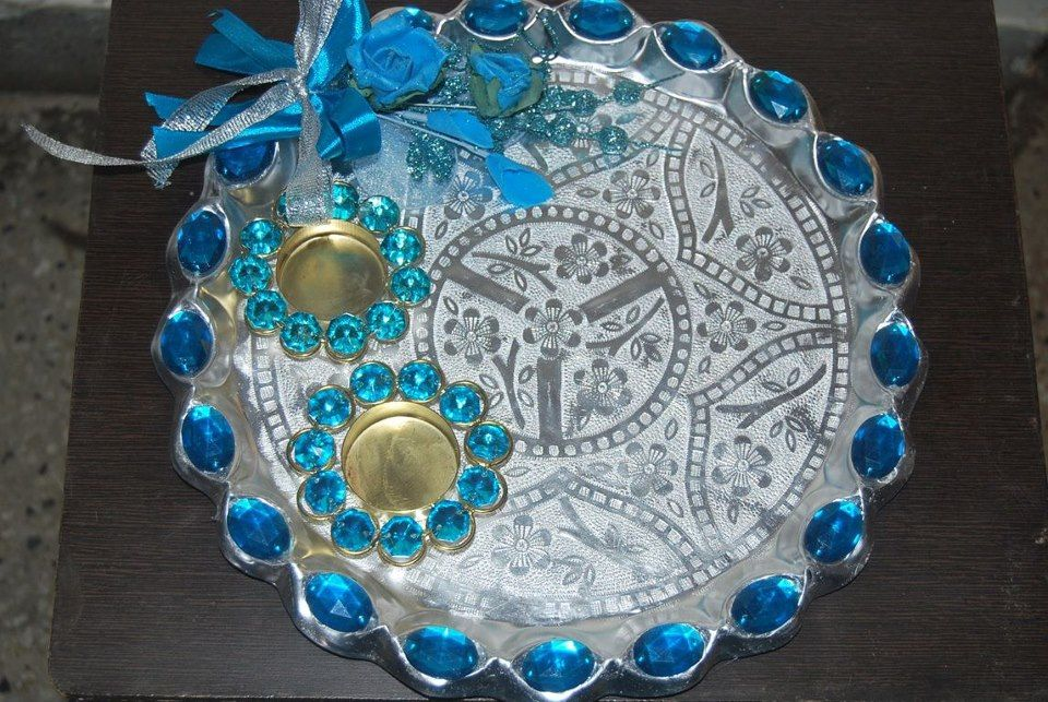 Decorated Tray,Decorative Fruit Basket,Dry Fruit Tray NEW