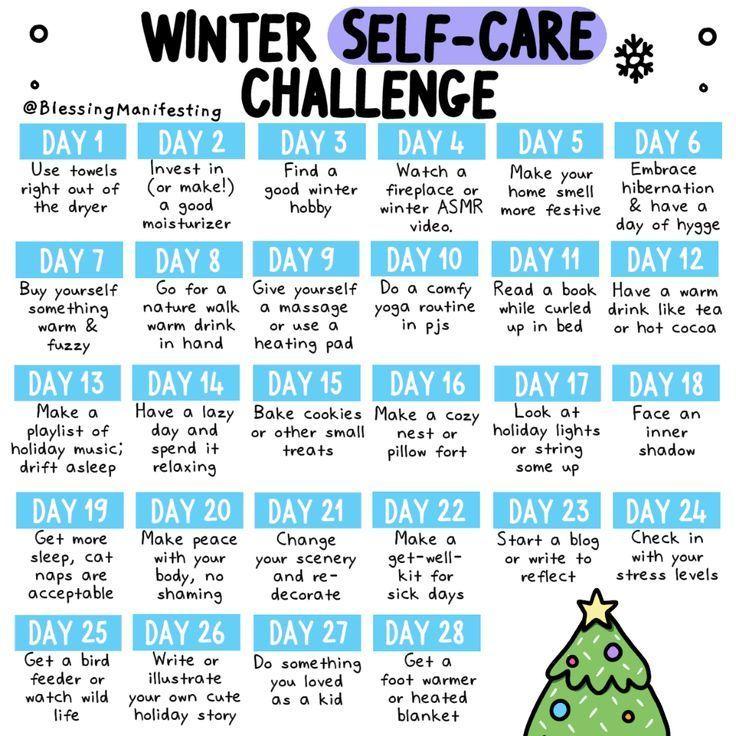 28 selfcare ideas for winter self care activities self